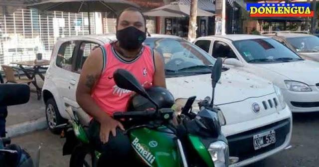 Repartidor Venezolano murió al ser atropellado en su moto en Argentina