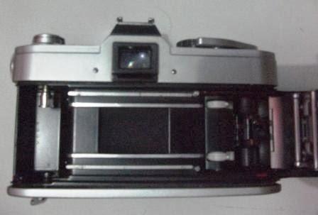 Canon FT QL tampak dalam