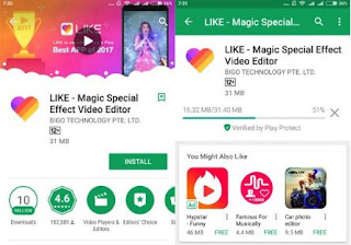 Cara Menggunakan LIKE App