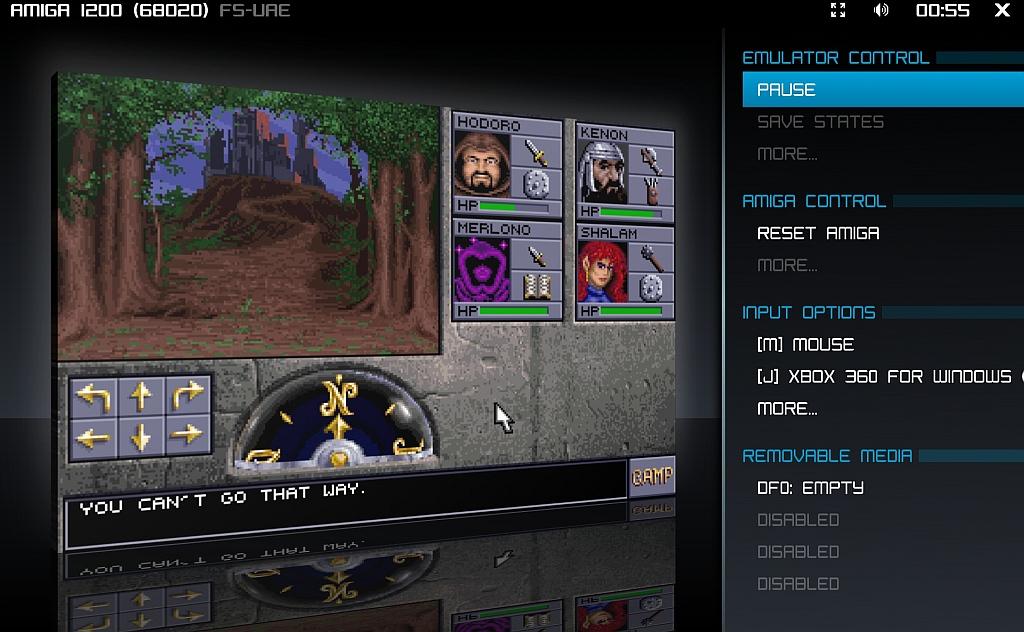 Indie Retro News: FS-UAE 2 4 1 - The best all round Amiga Emulator