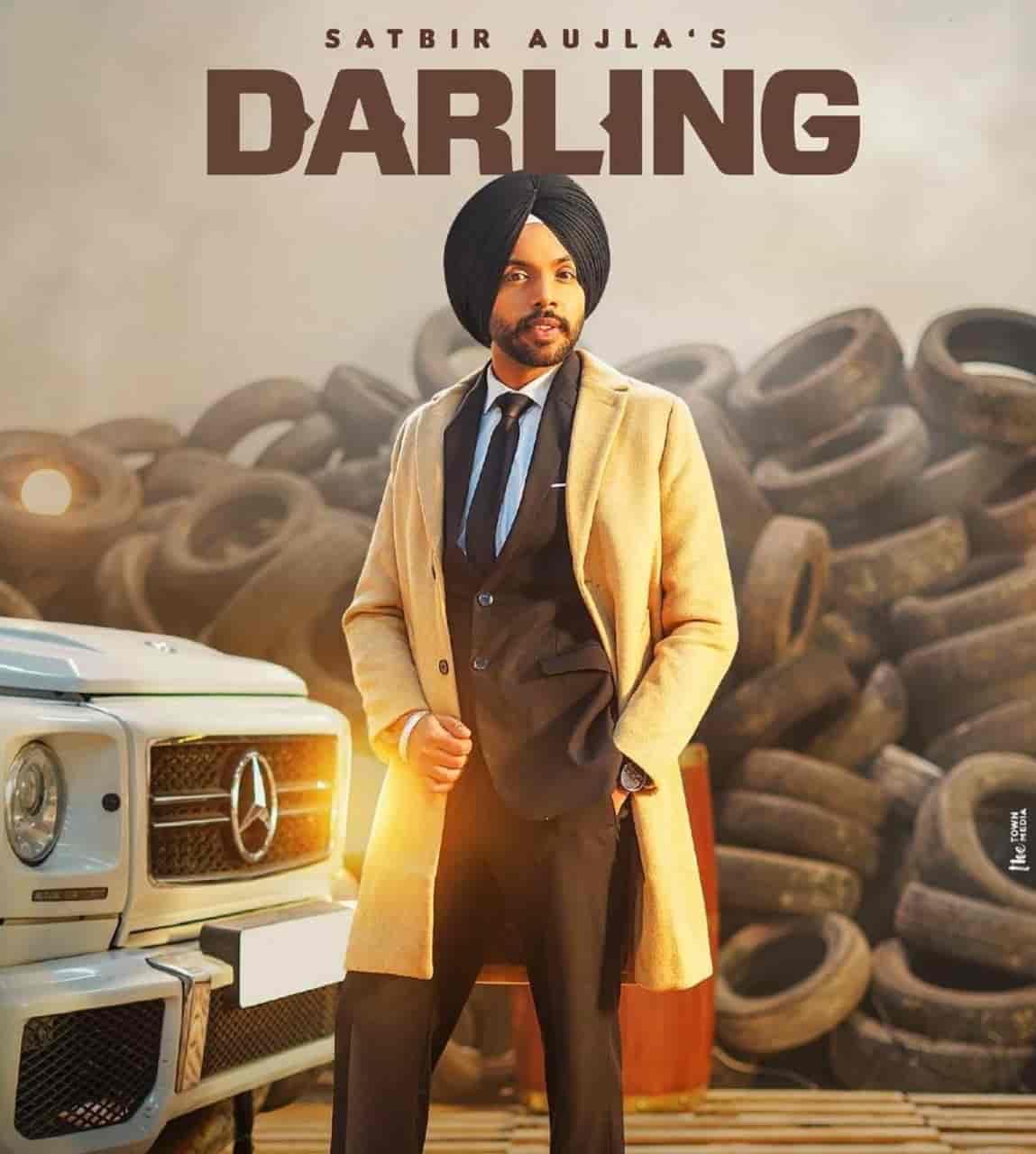 Darling Punjabi Song Image Features Satbir Aujla