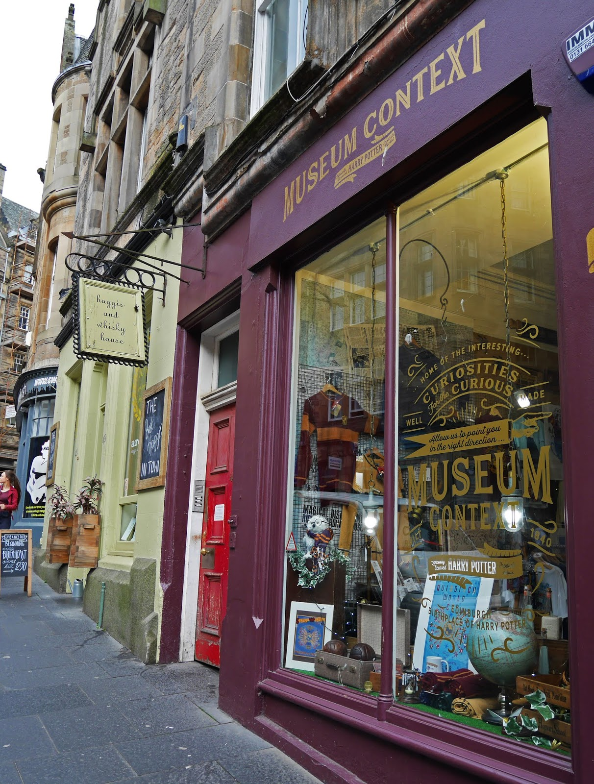Museum Context 'Harry Potter' shop in Edinburgh