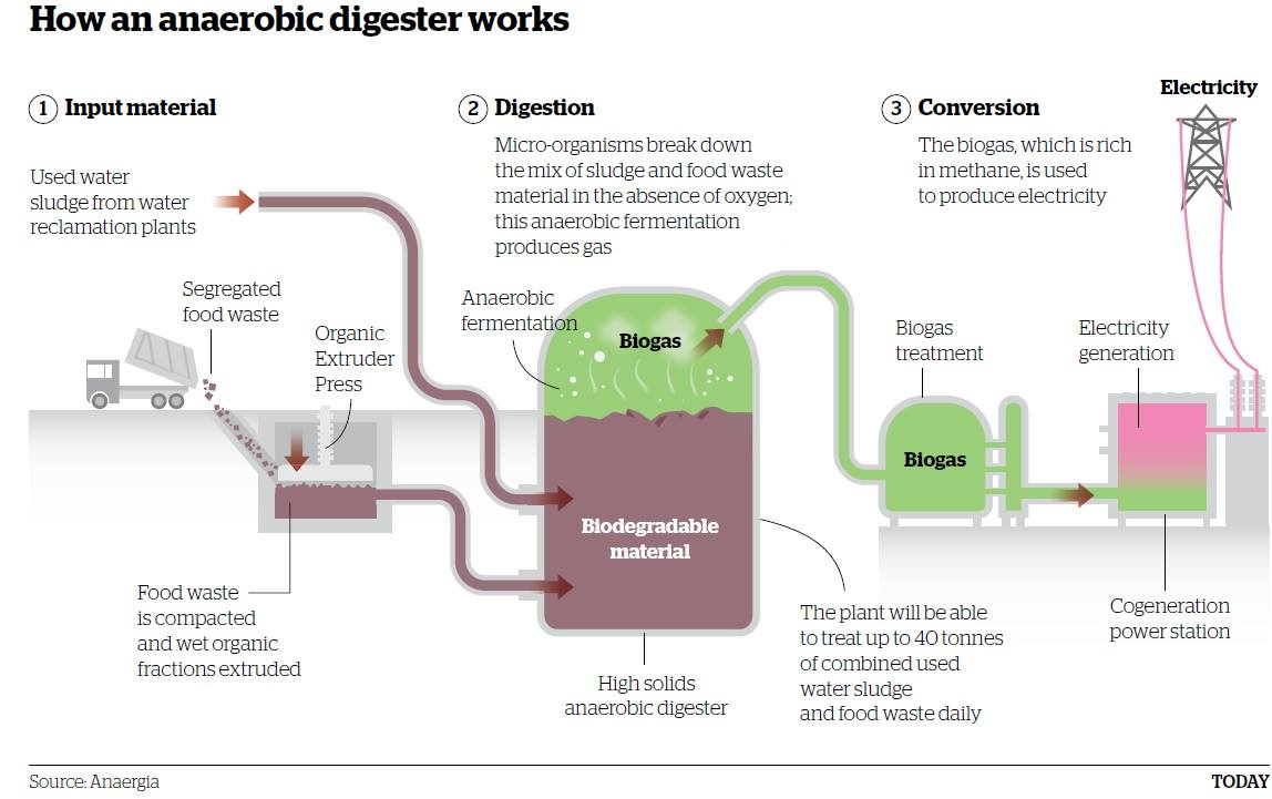 Organic Food Waste Digesters