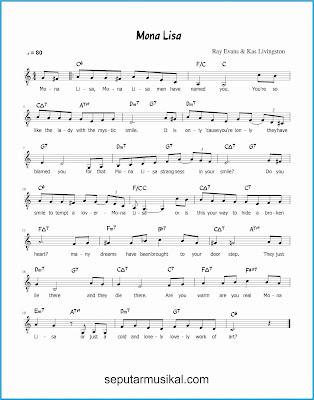mona lisa lagu jazz standar