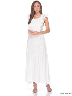 25d0808c94 de 100 Ideas de Vestidos Blancos Originales ¡Nuevas Tendencias ...