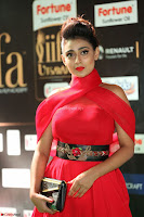 Apoorva in a Stunning Tight Leg Split Sleeveless Red Gown at IIFA Utsavam Awards 69.JPG