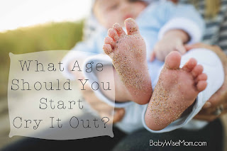 What age should you start CIO?