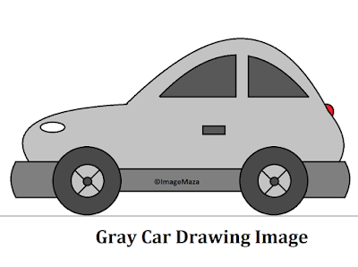 Car Drawing Image gray, Car Drawing for kids, how to draw car, car png images