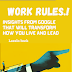 Work rules insights from inside google - Book Summary - Laszlo Bock
