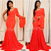 Ebube Nwagbo steps out in this lovely gown for the premiere of her movie