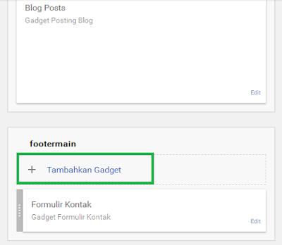 Memasang Lencana Google Plus bawaan Blogspot