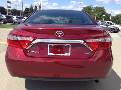 2017 Toyota Camry Tail light image