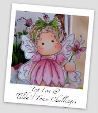 "Woo Hoo! Top 5- ""Tilda Winding Flowers"" July 2012"