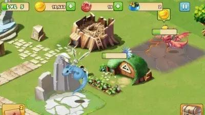 لعبة dragon mania legends
