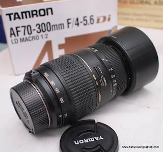 Jual Lensa Tele Tamron 70-300mm for Nikon bekas Banyuwangi