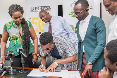 Signing of ambassadorial deal by Kofi Kinaata