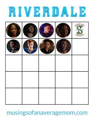Free Riverdale Printables