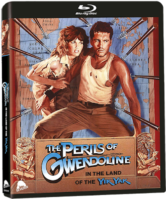 PERILS OF GWENDOLINE IN THE LAND OF YIK YAK reversible cover art!