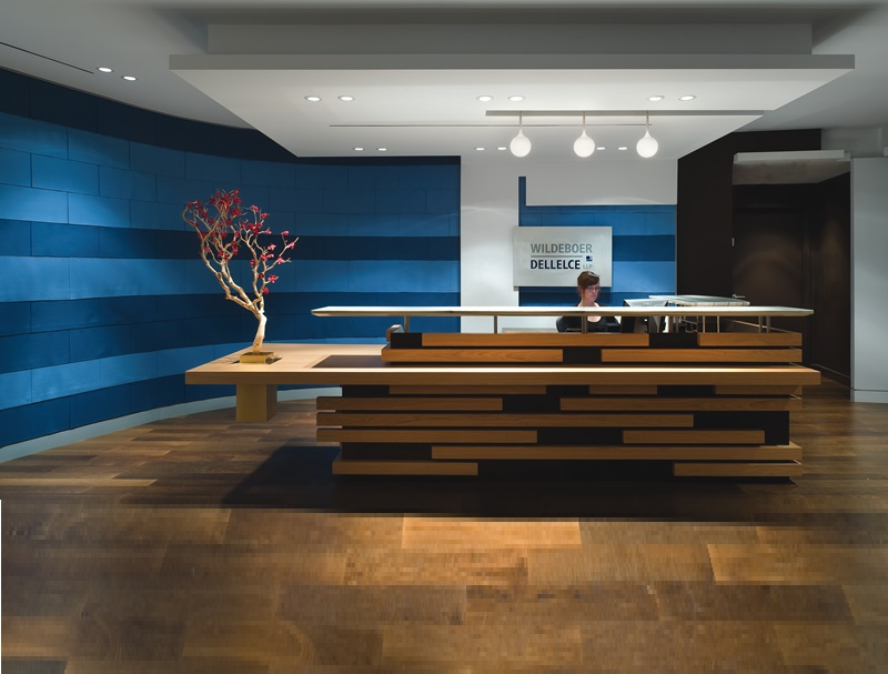 Office reception and waiting areas design ideas