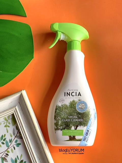 incia doğal cam temizleyici