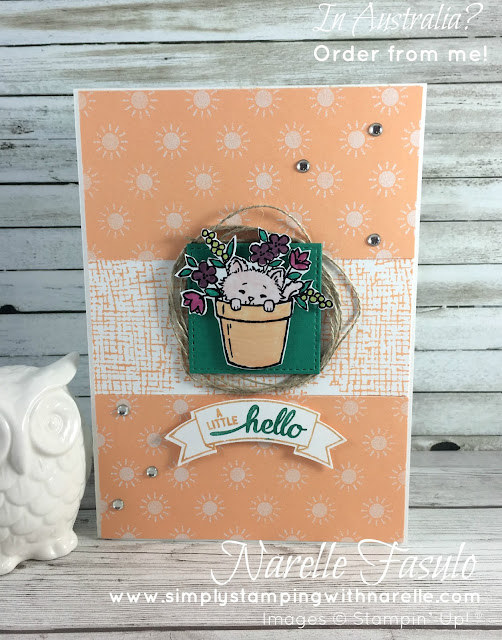 Pretty Kitty - Simply Stamping with Narelle - available here - http://www3.stampinup.com/ECWeb/ProductDetails.aspx?productID=141864&dbwsdemoid=4008228