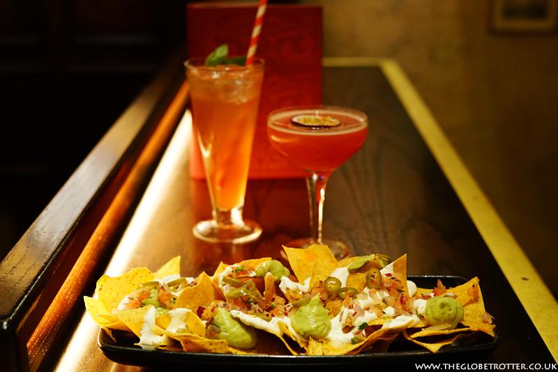 Food and drinks at Flight Club Social Darts