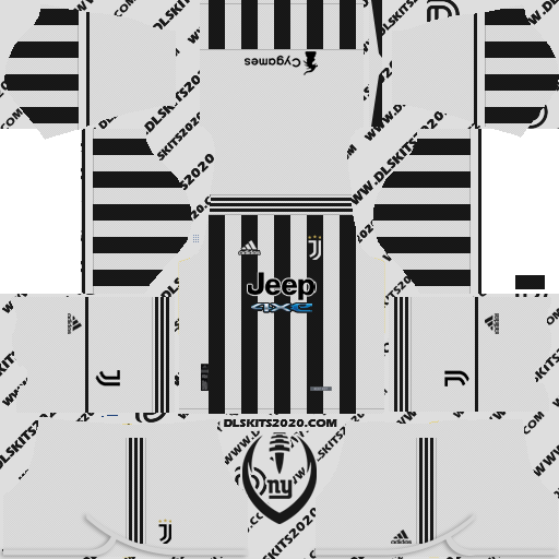 Juventus Kits 2021-2022 Adidas - Dream League Soccer 19 Kits (Home)