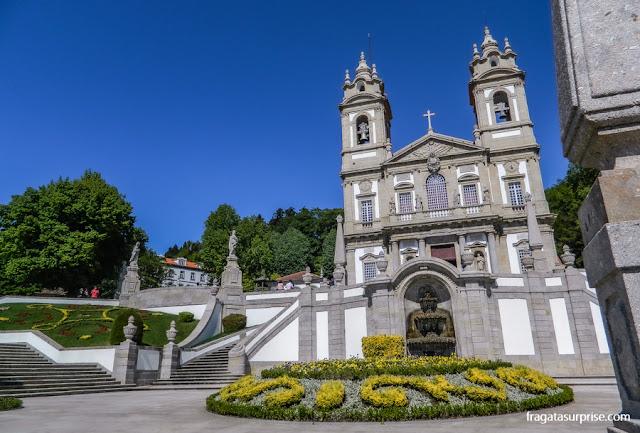 Igreja de Bom Jesus do Monte, Braga, Portugal