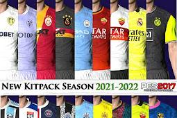 Leaked Kitpack New Season 2021/2022 V5 - PES 2017