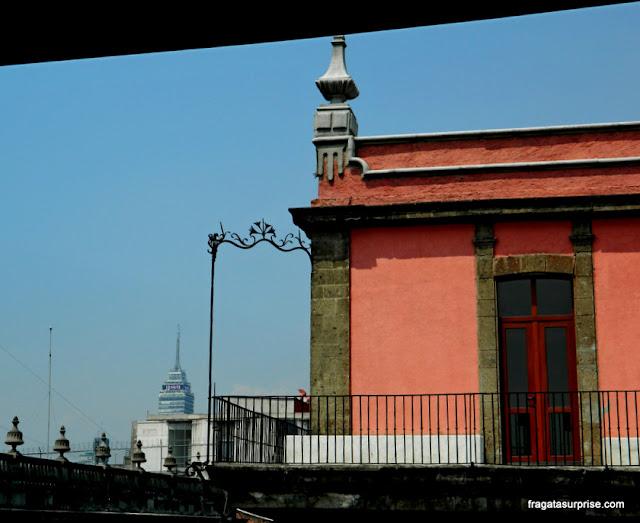 Casarão colonial no Centro Histórico da Cidade do México