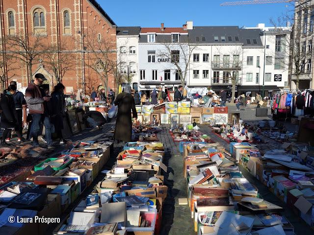 Mercado das pulgas | Bairro de Marolles, Bruxelas