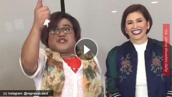 "Madam ""Leila De Lima"" sings Siya Ba ang Dahilan with Regine Velasquez"