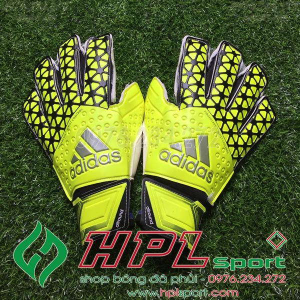 Găng tay thủ môn Adidas - HPL 02 xanh chuối