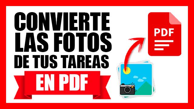 ¿Cómo convertir imagenes a PDF desde el celular?