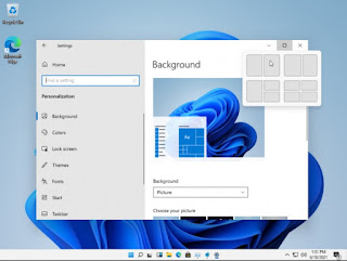 Snap Layout Features in Windows 11