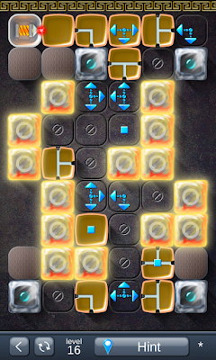 Solution for Laser Box - Puzzle (Royal) Level 16