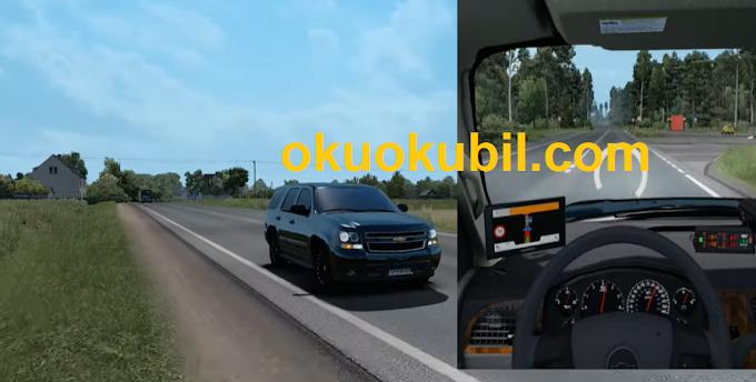 ETS2 1.35 Chevrolet Tahoe Arazi Aracı Modu İndir +Tanıtım Euro Truck Simulator 2  20 Ağustos