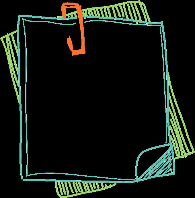 Blue board sketch, Paper Color, Borders notes, border, frame free png