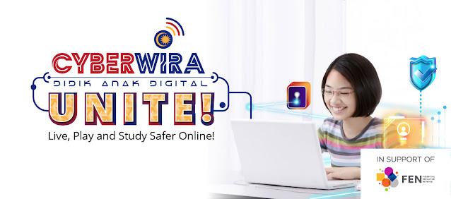 cyberwira, didik anak digital, leaped, keselamatan siber, keselamatan internet,  program cyberwira, buli siber, cyberwira digital citizenship