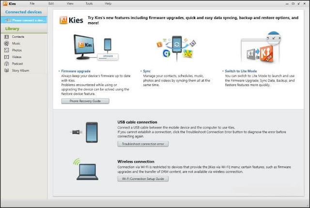 برنامج, سامسونج, كيز, الإصدار, الرسمي, لتوصيل, جوالات, سامسونج, بالكمبيوتر