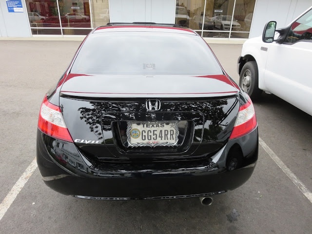 2008 Honda Civic Coupe after whole car paint job at Almost Everything Auto Body