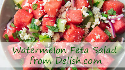 watermelon cucumber onion feta salad from delish.com