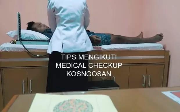 tips lolos medical check up