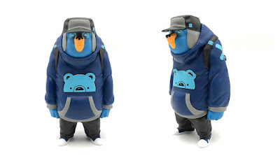Tenacious Toys Exclusive KUB Tenacious Blue Edition Vinyl Figure by Mike Fudge x UVD Toys