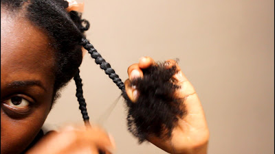 How to properly end African Threading without Damage | African Naturalistas