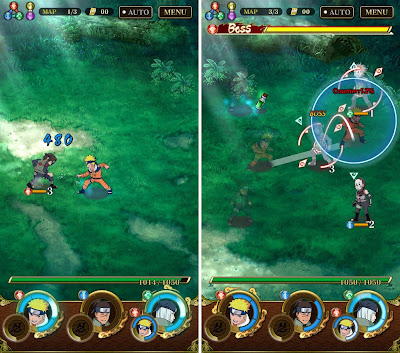 Screenshot Ultimate Ninja Blazing