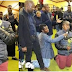 South African pastor Lesego Daniels makes members eat flowers (photos)