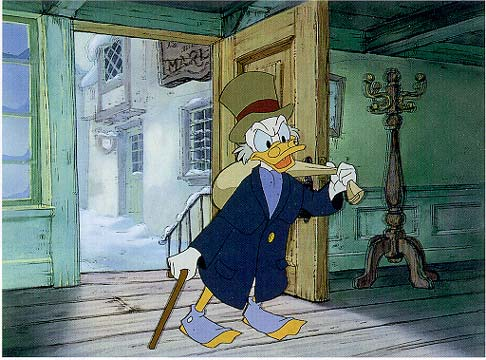 Disney Christmas Carol.25 Reviews Of Christmas 10 Scrooge Mcduck Steals The Show