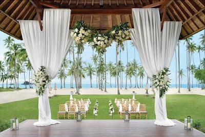 sanchaya bintan beach wedding singapore