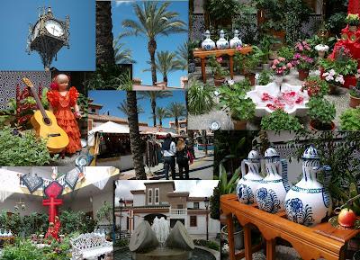 Mercado Medieval y Verbena de Churriana de la Vega, Granada.